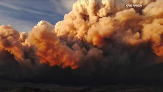 East Troublesome Fire more than doubled in size overnight