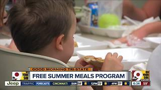 Summer meal program starts today in Cincinnati