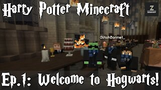 Welcome to Hogwarts! - Ep. 1 | Harry Potter Minecraft