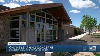 Parents voice concerns, challenges, as districts roll out online learning