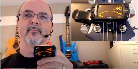 Gear Review - Musedo TM-25 Clip-on Tuner/Metronome by Lekato