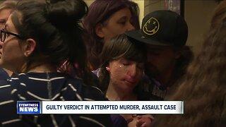 Guilty verdict in attempted murder, assault case