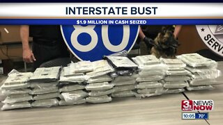 $1.9 million in cash seized during I-80 traffic stop