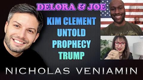 Delora & Joe Dingle Discusses Kim Clement Prophecy with Nicholas Veniamin