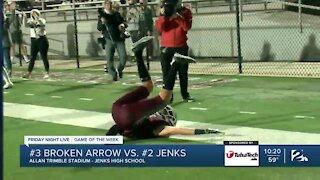 Jenks beats Broken Arrow in Game of the Week