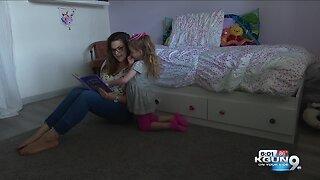 Four-year-old fights autoimmune disease