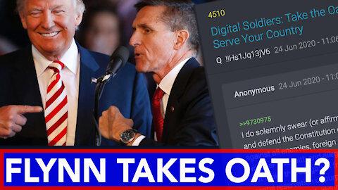 General Flynn takes Oath? Boom! with Juan O Savin insights