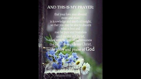 Paul prays