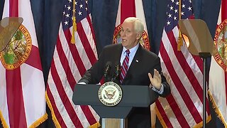 Vice President Mike Pence visits Tampa for Trump campaign rally