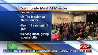 Mission at Kern Christmas meal