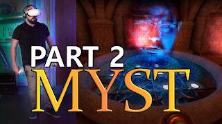 Oculus Quest 2 - Beginner Tries MYST VR - Episode 2