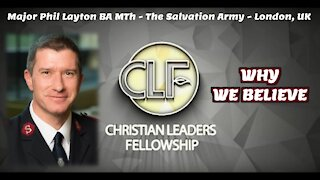 Why We Believe   Christian Leaders Fellowship   Europe Conference   CLF