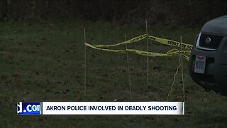 Akron police investigating shooting involving 2 officers that left 1 male dead