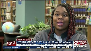 From homeless to college: a young woman's journey
