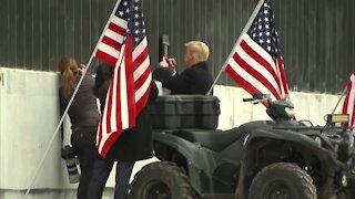 Trump At The Border Wall!