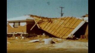 8mm film Haskell Texas Tornado
