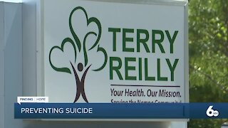FINDING HOPE: Terry Reilly partners with ISPH to prevent suicides