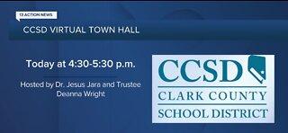 CCSD virtual town hall meeting