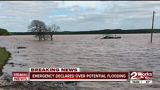 Corps warns about potential flooding as Keystone Lake rises