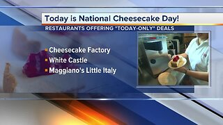 National Cheesecake Day: Local restaurants offering deals