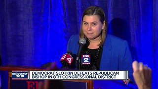 Democrat Elissa Slotkin defeats Rep. Mike Bishop in MI's 8th Congressional district