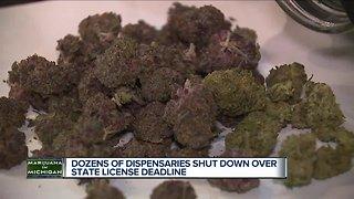 More than 70 medical marijuana dispensaries shut down over state licensing
