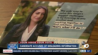 Congressional candidate accused of using misleading information
