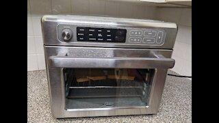 Oster Digital Rapid Crisp Air Fryer Oven, Review, Recipes, Cooks, Test