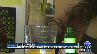 New bill could change rules for CBD products