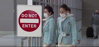 Coronavirus scare on Korean Air flight
