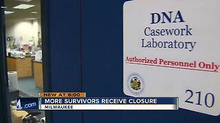 More sexual assault survivors receiving closure