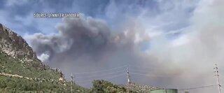 BREAKING NEWS: Crews battle Mahogany fire near Mt. Charleston