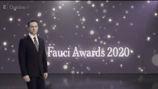 """New York Times Releases BIZARRE """"Fauci Awards"""" Video"""