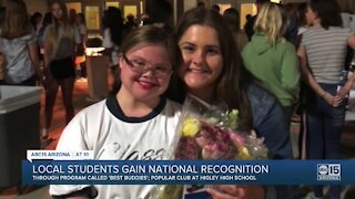 Local students gain national recognition for being best friends