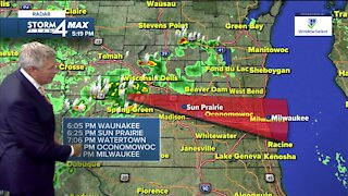 Severe storms possible Thursday night