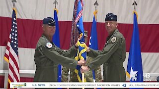 Maj. Gen. Case Cunningham assumes command of U.S. Air Force Warfare Center in Las Vegas