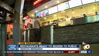 Restaurants ready to reopen to public