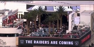 Former Raiders attend NFL draft party in Las Vegas