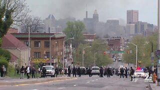 Baltimore Community Activist addresses protests in Minneapolis