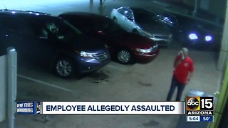 Gas station employee attacked in Phoenix