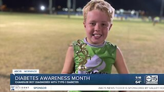 Chandler family shares story of 6-year-old boy's diabetes diagnosis