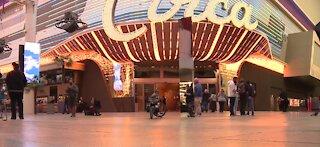 Monolith appears in downtown Las Vegas