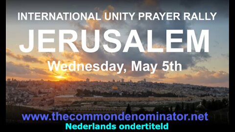 A powerful message from Jerusalem that everyone should see! (Nederlands ondertiteld)