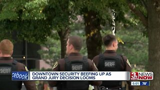 Downtown security beefing up as grand jury decision looms