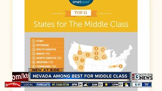 Nevada among best for middle class