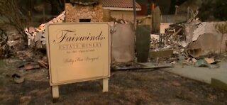 California wildfires hurt wine country