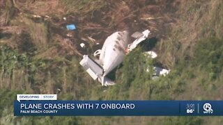 Witness describes rescue of plane crash victims at North Palm Beach County General Aviation Airport