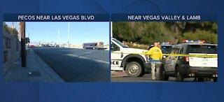 Las Vegas-area police investigate 2 homicide scenes on Sunday