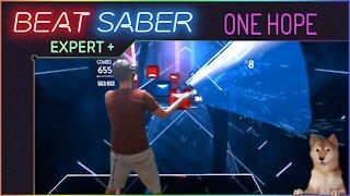 Hi Rumble! - AverageDog plays Beat Saber - ONE HOPE - Expert Plus