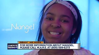 Grant Me Hope: Niangel hopes for a family to love her